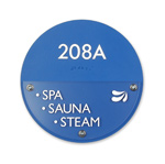 Spa Sauna Steam Sign